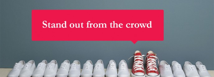 Stand out from the crowd CV writing